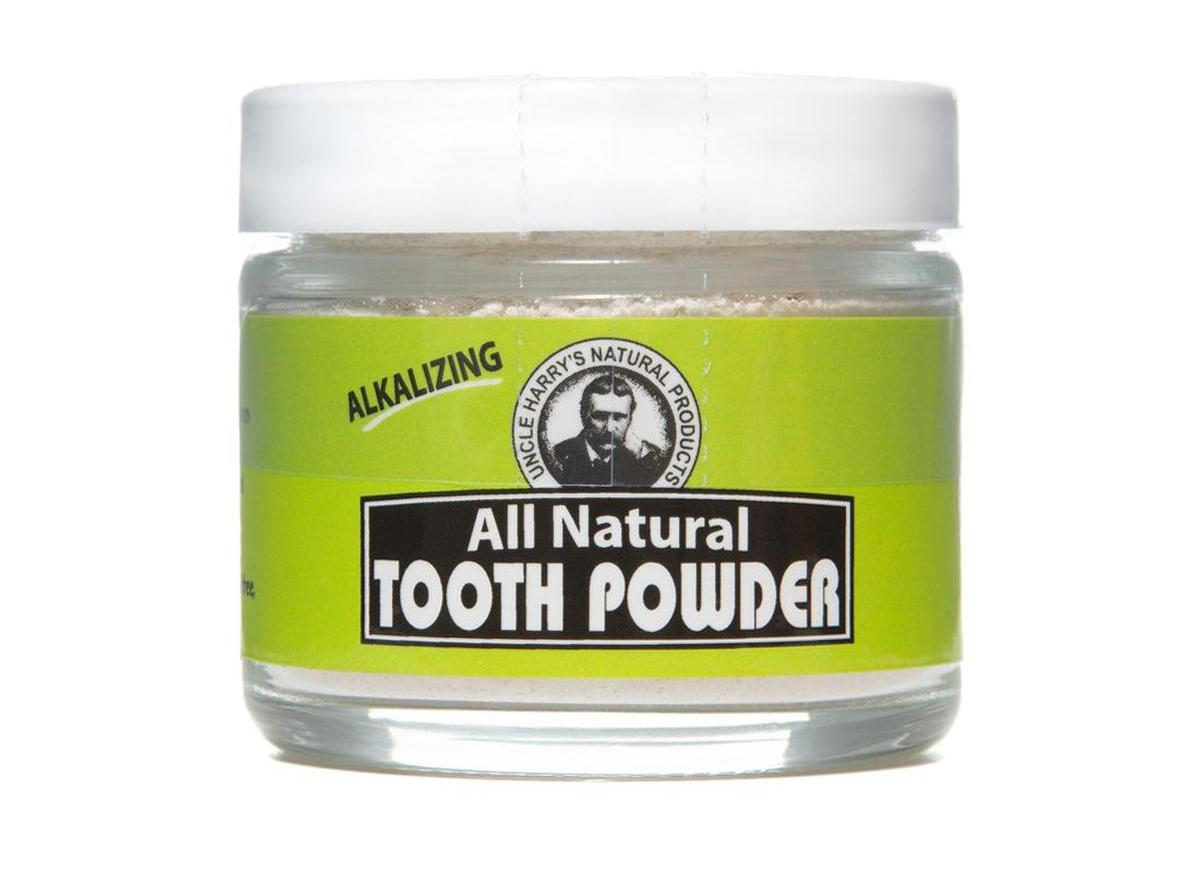 Uncle Harry's All Natural Tooth Powder
