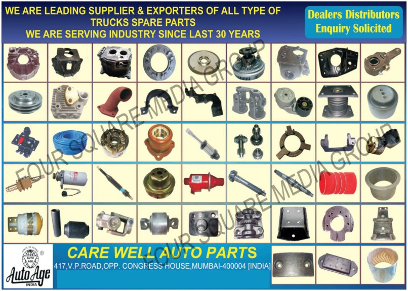 Truck Spare Parts Care Well Auto