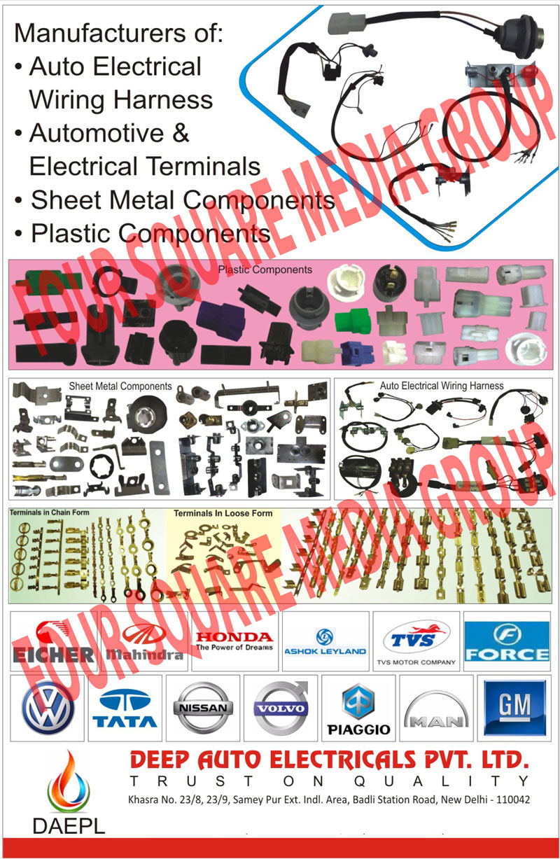 medium resolution of automotive wiring harness automotive sheet metal terminals automotive plastic moulding components wiring harness