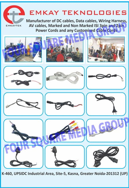 hight resolution of dc cables data cables wiring harness 3 pin power cords 2 pin