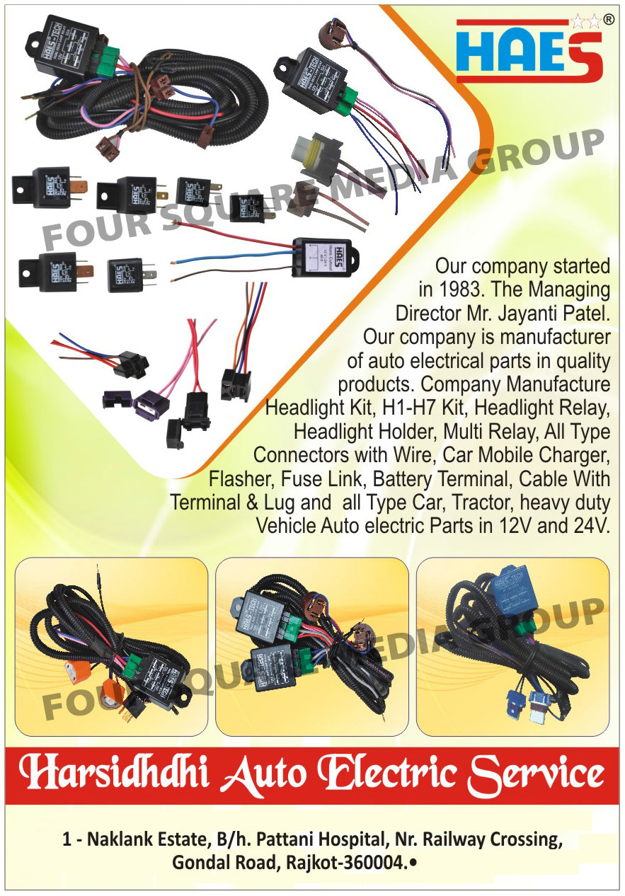 medium resolution of harsidhdhi auto electric service