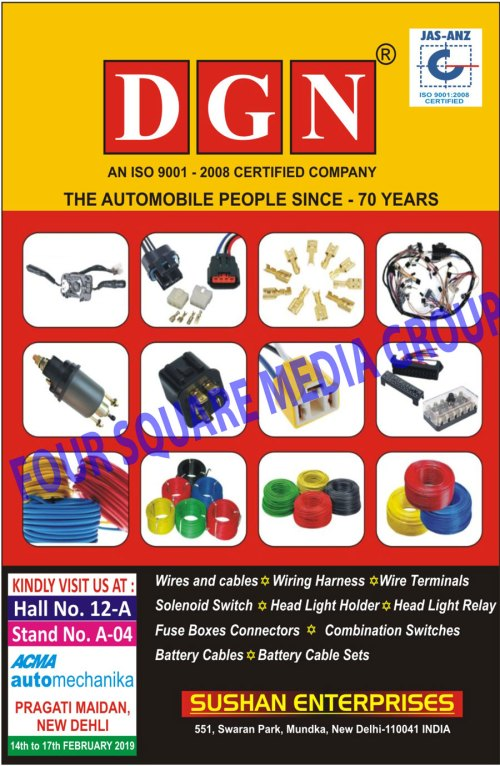 small resolution of wires cables wiring harness wire terminal solenoid switch head light holder