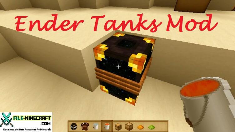 Ender Tanks Mod