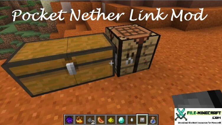 Pocket Nether Link Mod