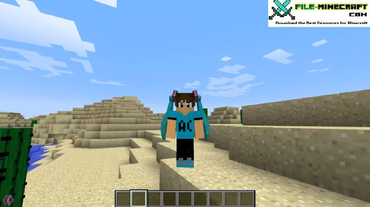 Twintails Mod mod for Minecraft