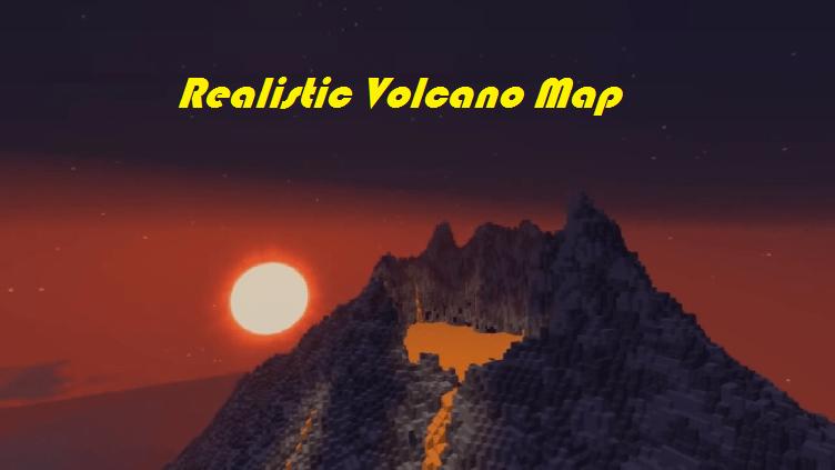 Download Realistic Volcano Map