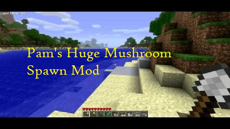 Pam's Huge Mushroom Spawn Mod