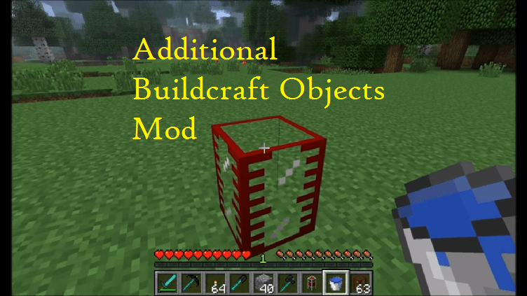 Additional Buildcraft Objects Mod
