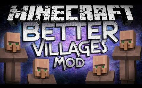 Better Villages Mod 1.8 (Villages Generation)