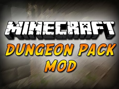Dungeon Pack Mod 1.10.2 1.6.4