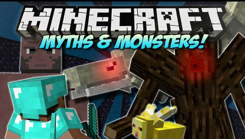 Myths and Monsters Mod 1.10.2|1.8 (Deliver RPG)