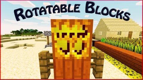 Rotatable Blocks Mod