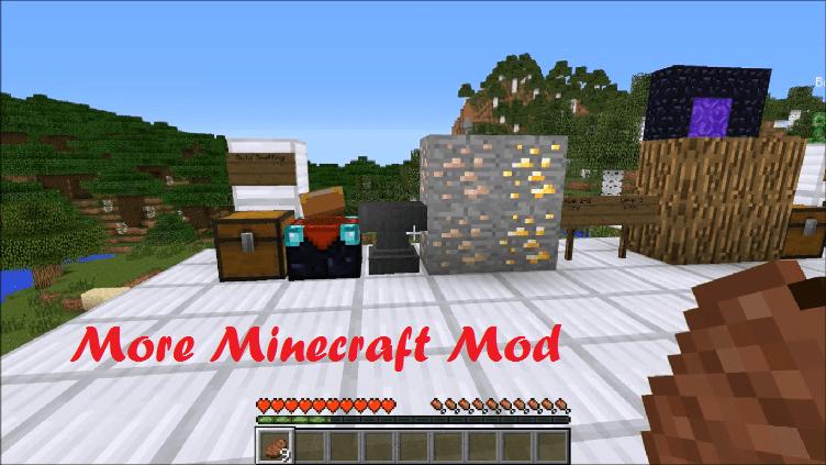 More Minecraft Mod