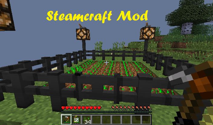 Steamcraft Mod