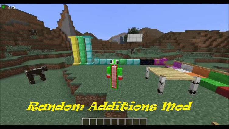Random Additions Mod