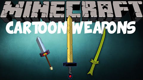 Cartoon Weapons Mod