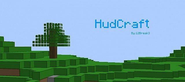 HudCraft – 3D Resource Pack