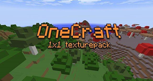 OneCraft 1×1 Resource Pack
