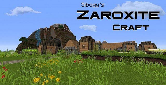 Zaroxite craft pack