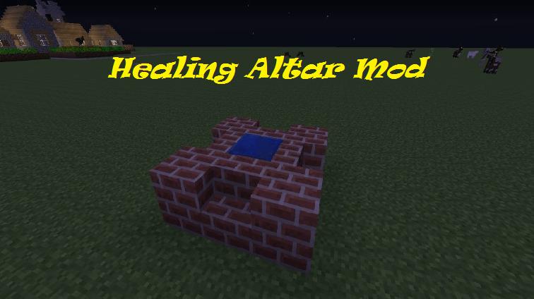 Healing Altar Mod
