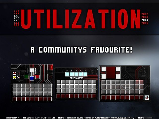 Utilization resource pack