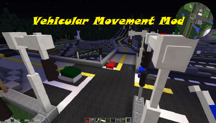 Vehicular Movement Mod