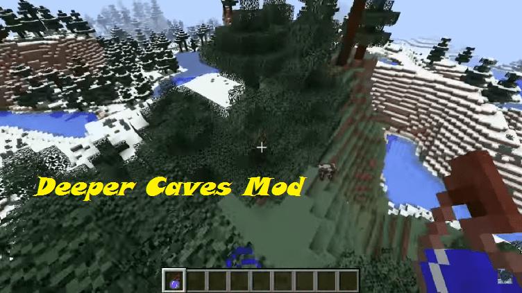 Deeper Caves Mod