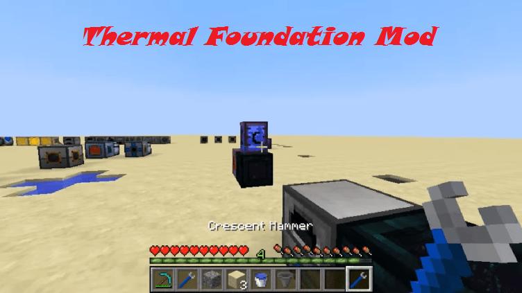 Thermal Foundation Mod 1.15.2|1.12.2