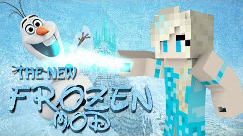 Frozencraft Mod 1.8 (Elsa, Anna, Hans, Kristoff etc)