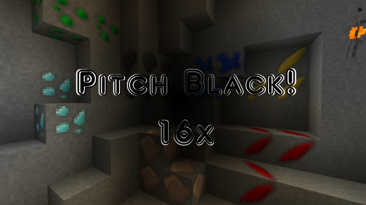 Pitch black resource pack