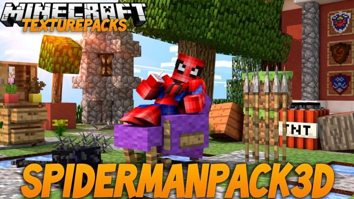 Spiderman 3d resource pack