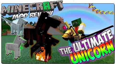 Ultimate Unicorn Mod 1.11|1.10.2|1.8 (Variety of unicorns)