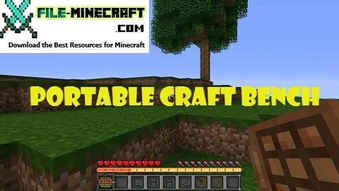 Portable Craft Bench Mod 1.11.2 1.10.2