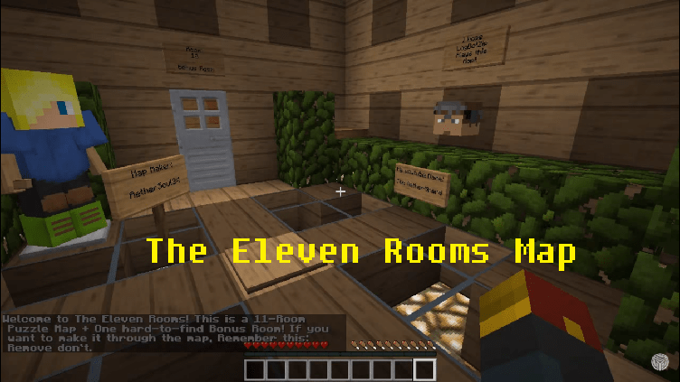 Download The Eleven Rooms Map