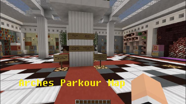 Download Arches Parkour Map