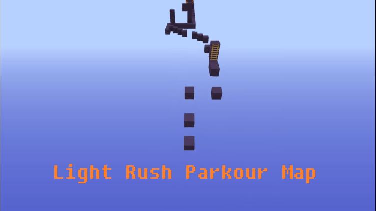 Download Light Rush Parkour Map