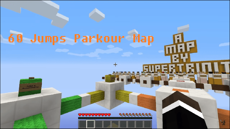 Download 60 Jumps Parkour Map