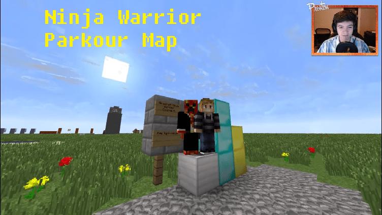 Download Ninja Warrior Parkour Map