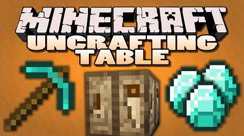 Uncrafting Table Mod 1.15.2|1.12.2