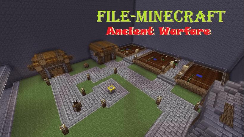 Ancient Warfare Mod  1.12.2 (Ancient Weapons)