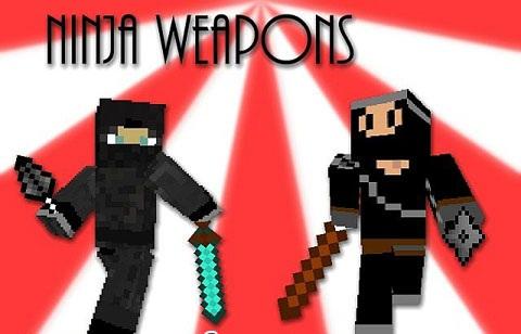 Ninja Weapons Mod