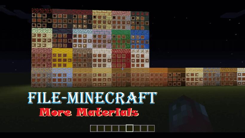 More Materials Mod 1.11.2|1.10.2 by localtoast
