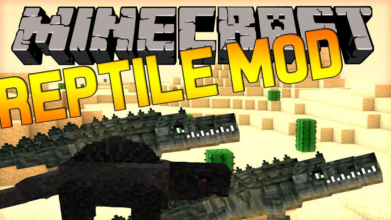 Reptile Mod 1.16.3|1.15.2|1.14.4|1.12.2