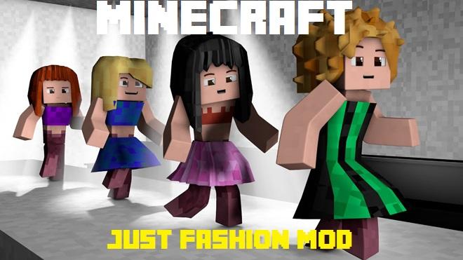 Just Fashion Mod 1.12 1.11.2 - Fashion catwalk