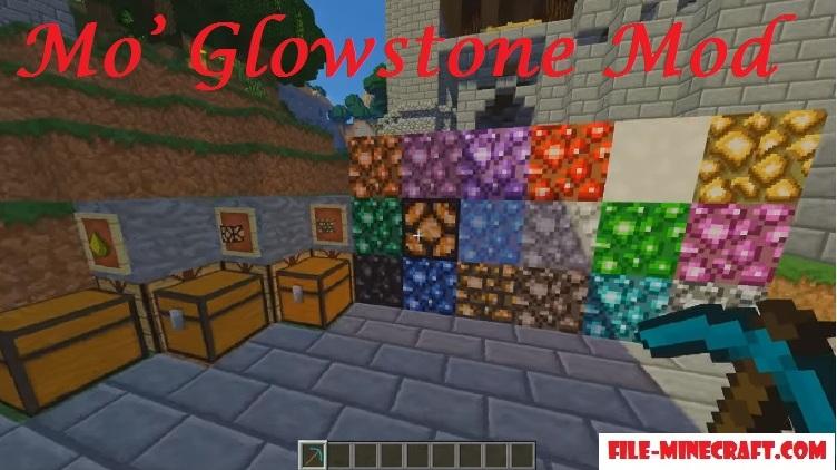 Mo' Glowstone Mod 1.15.2|1.12.2