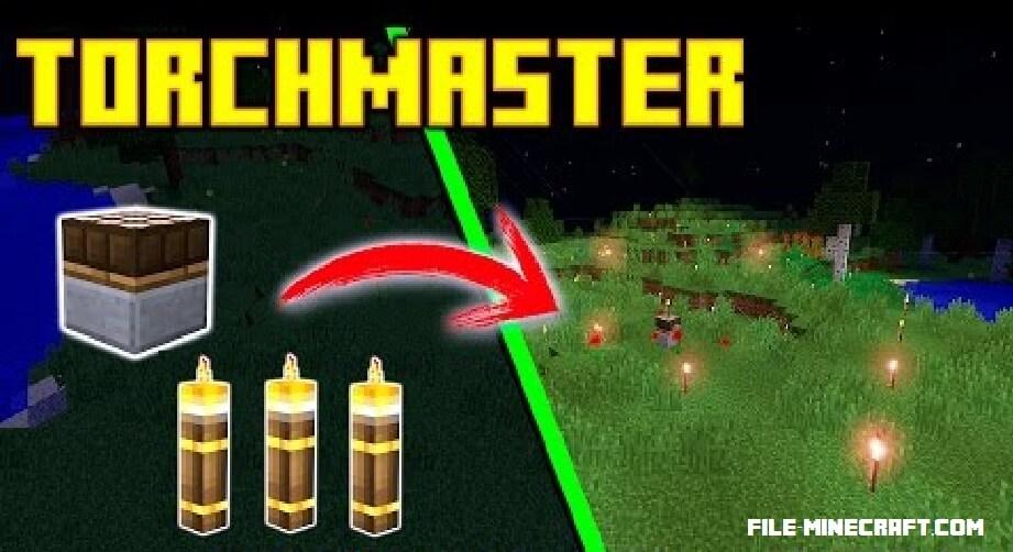 TorchMaster Mod 1.12 1.11.2