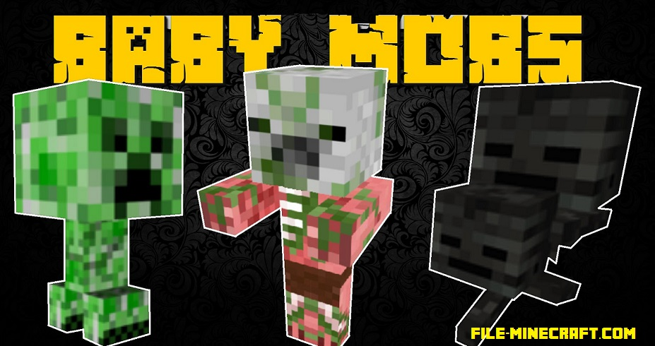 Baby Mobs Mod 1.12 1.11.2