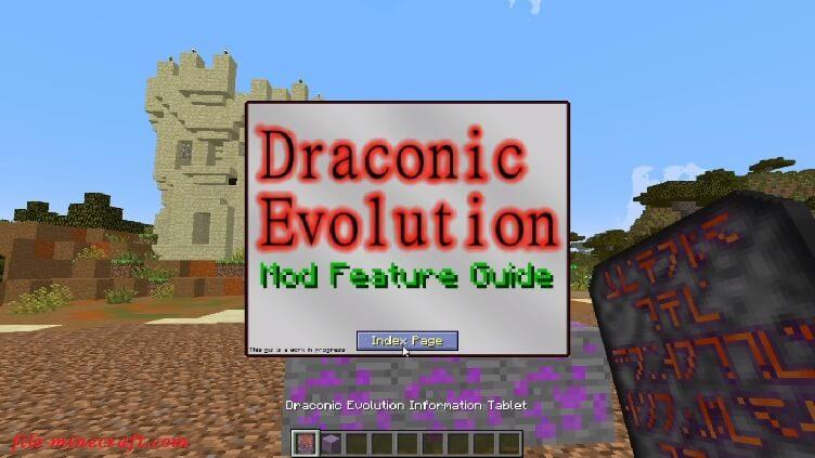 Draconic Evolution Mod 1.15.2 1.12.2