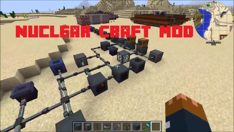 Nuclear Craft Mod 1.15.2 1.12.2