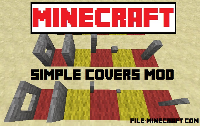 Simple Covers Mod 1.10.2 - Microblocks for MCMultipart
